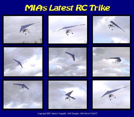 MIA Ulra Light-Weight Late 90's RC Microlight