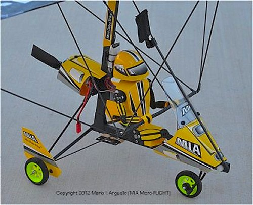 MIA Direct Control RC Microlight 3