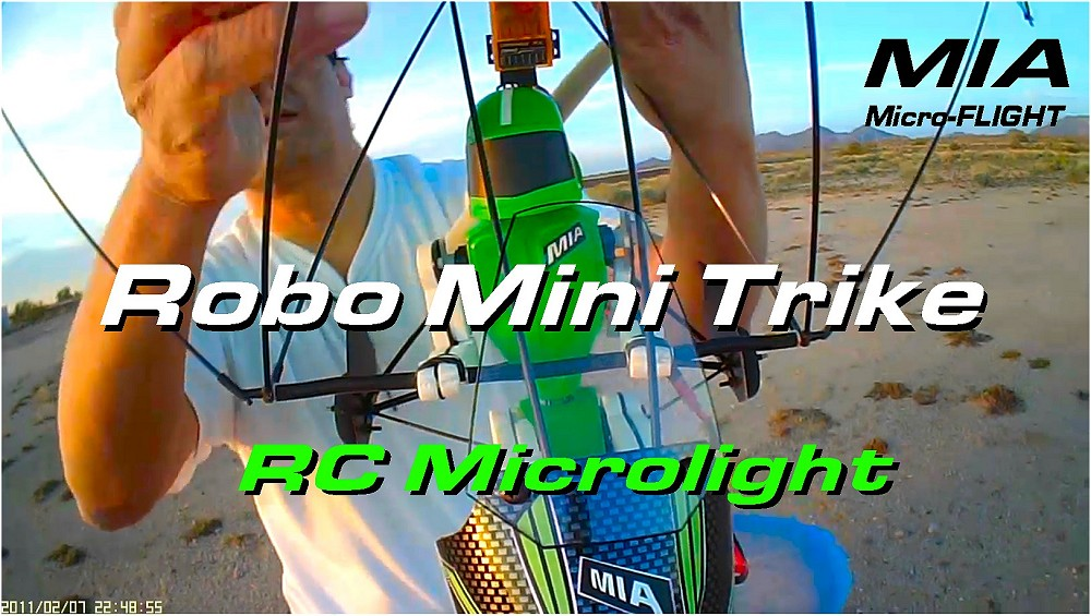 MIA Robo™ Trike RC Microlight with Strut Braced LG